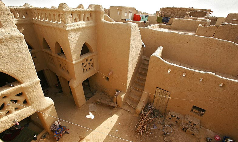 Mud Houses in Mali