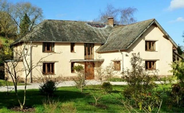 Modern cob home in Devon, England